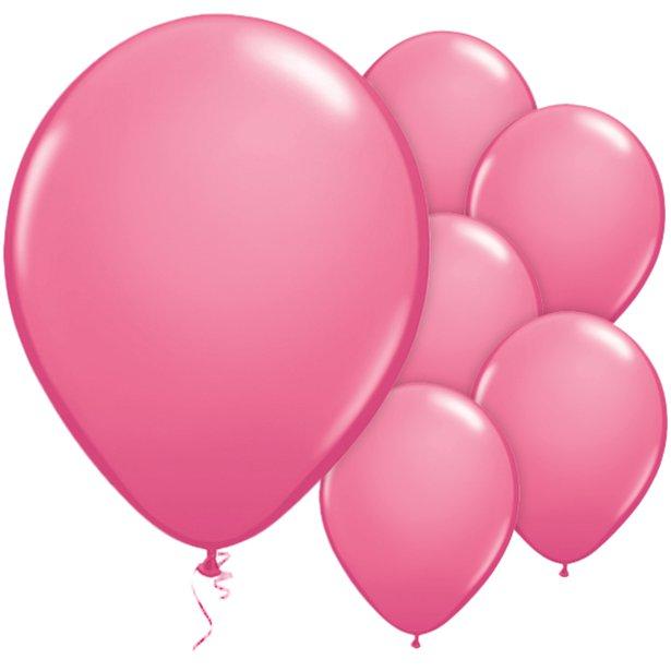 10 Pinke Ballons