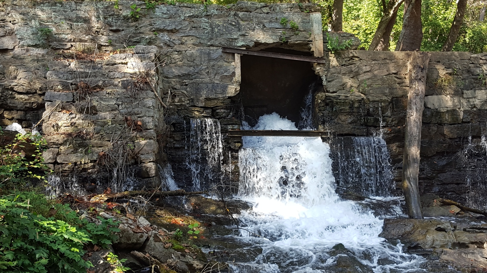 Repairs needed for the dam.