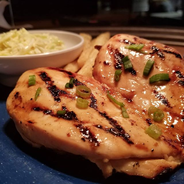 Come try out honey glazed chicken breast while they last.