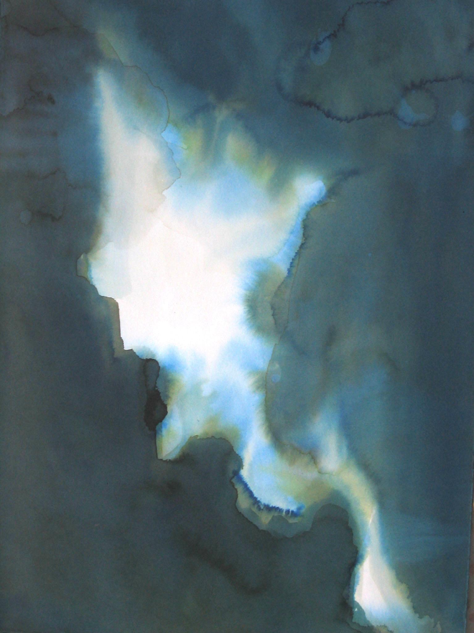 "Dog Spot 15"" x 11"" watercolor"