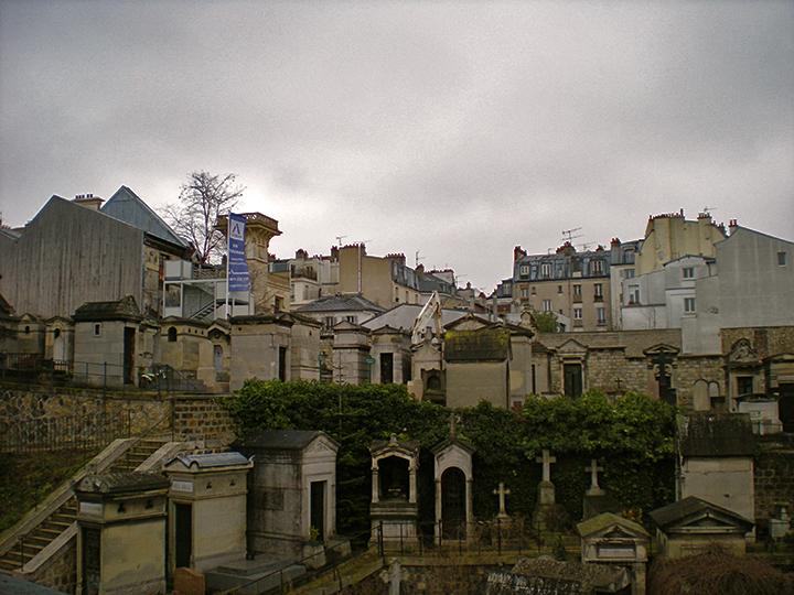Montmarte district, Paris, France, 2015