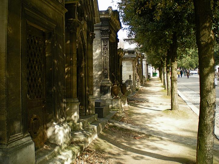 Pere Lachaise Cemetery, Paris, France, 2015