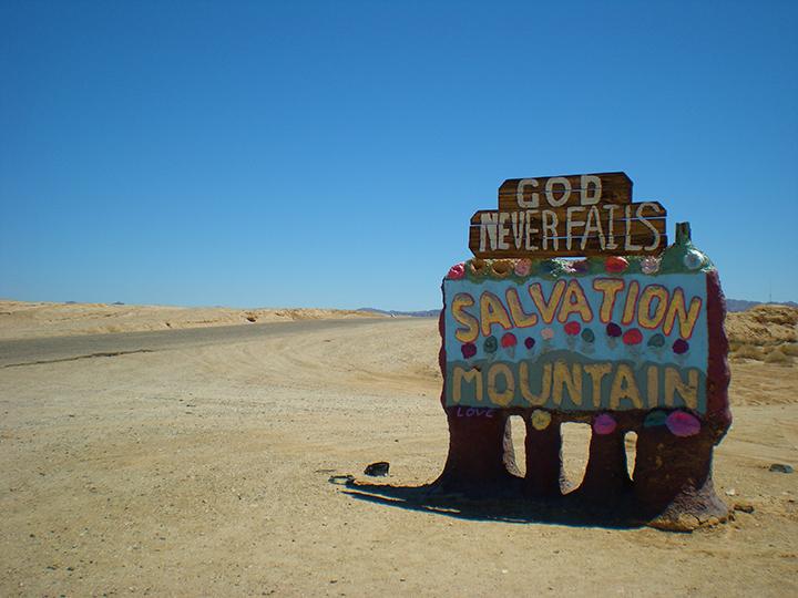 California desert, California, USA, 2015