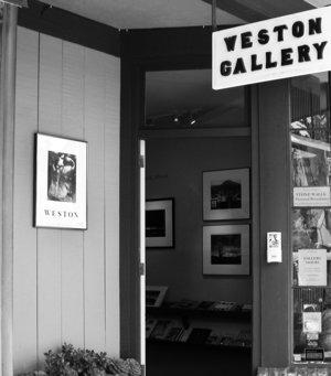 Entrance to Weston Gallery, Est. 1975