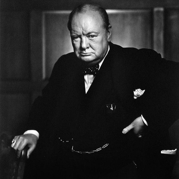 Winston Churchill - YousufKARSH