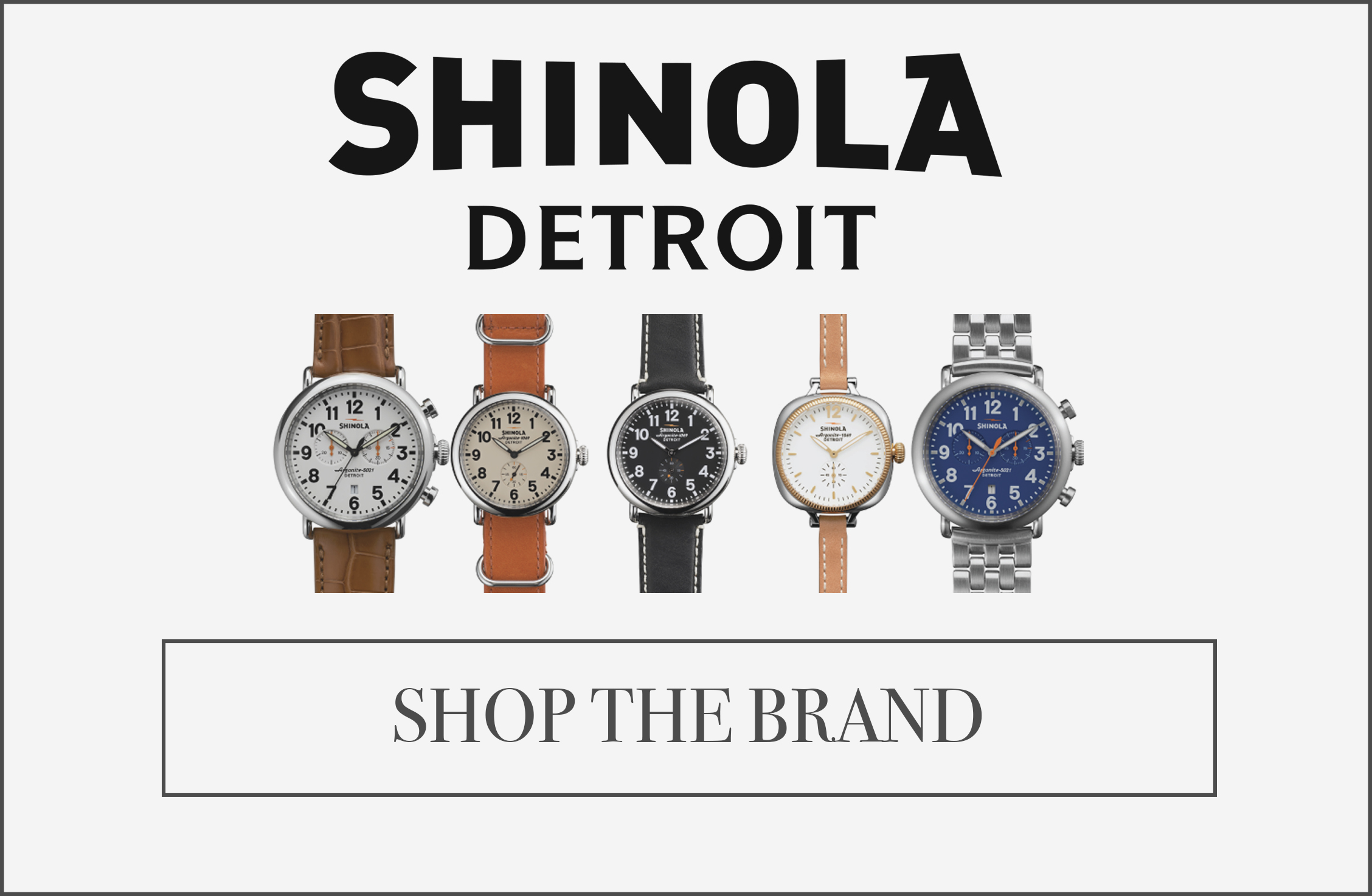 Sbop shinola detroit at Providence Diamond