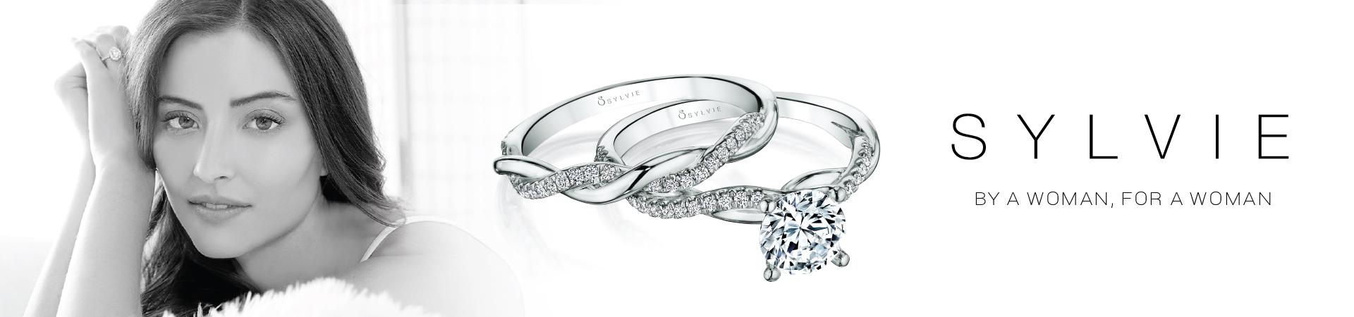 Sylvie jewelry at Providence Diamond.