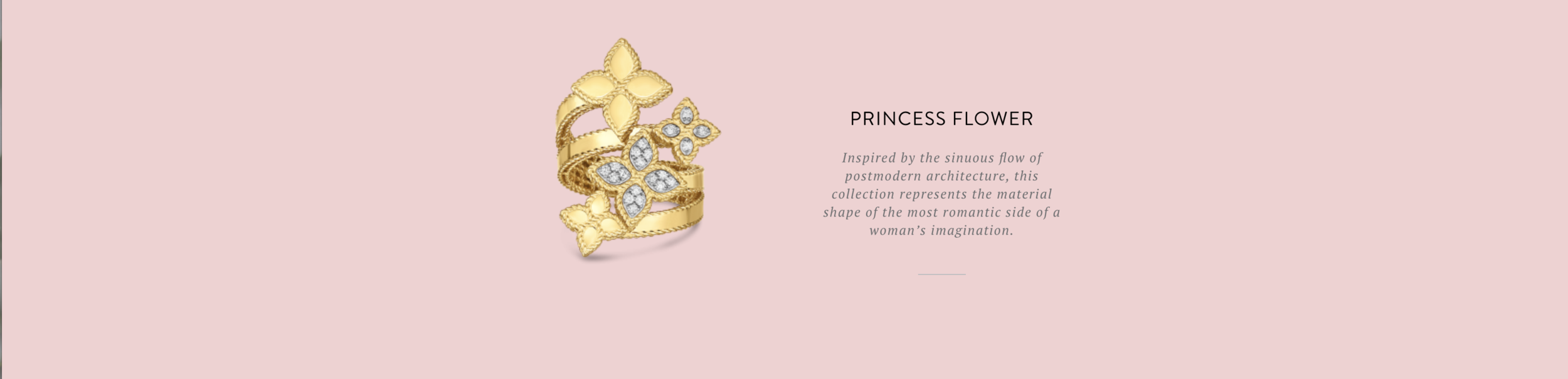 Princess Flower Roberto Coin at Providence Diamond.