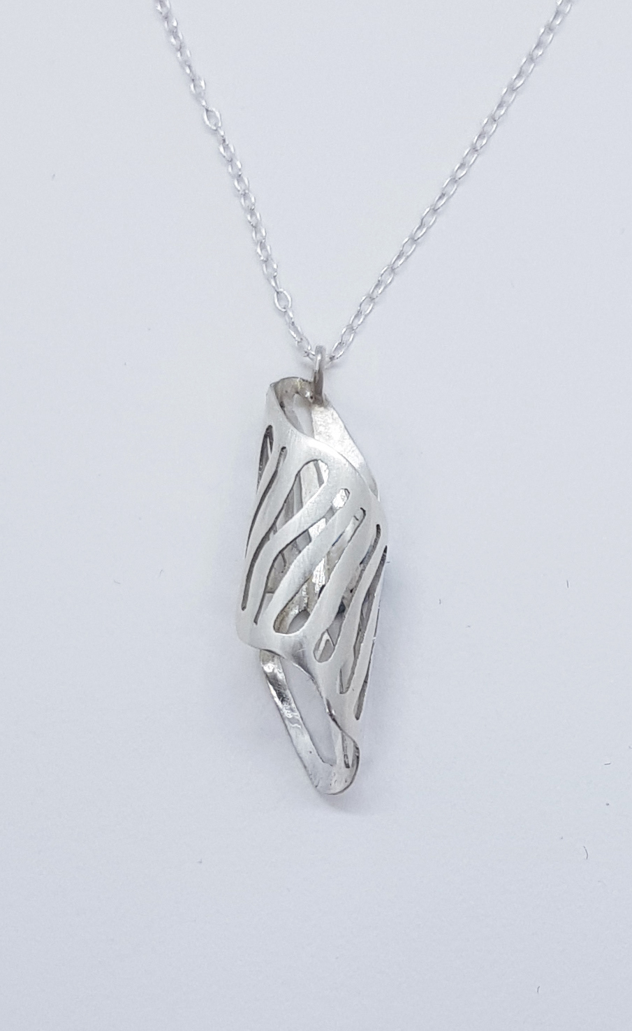£40 Curl Necklace - Sterling silver