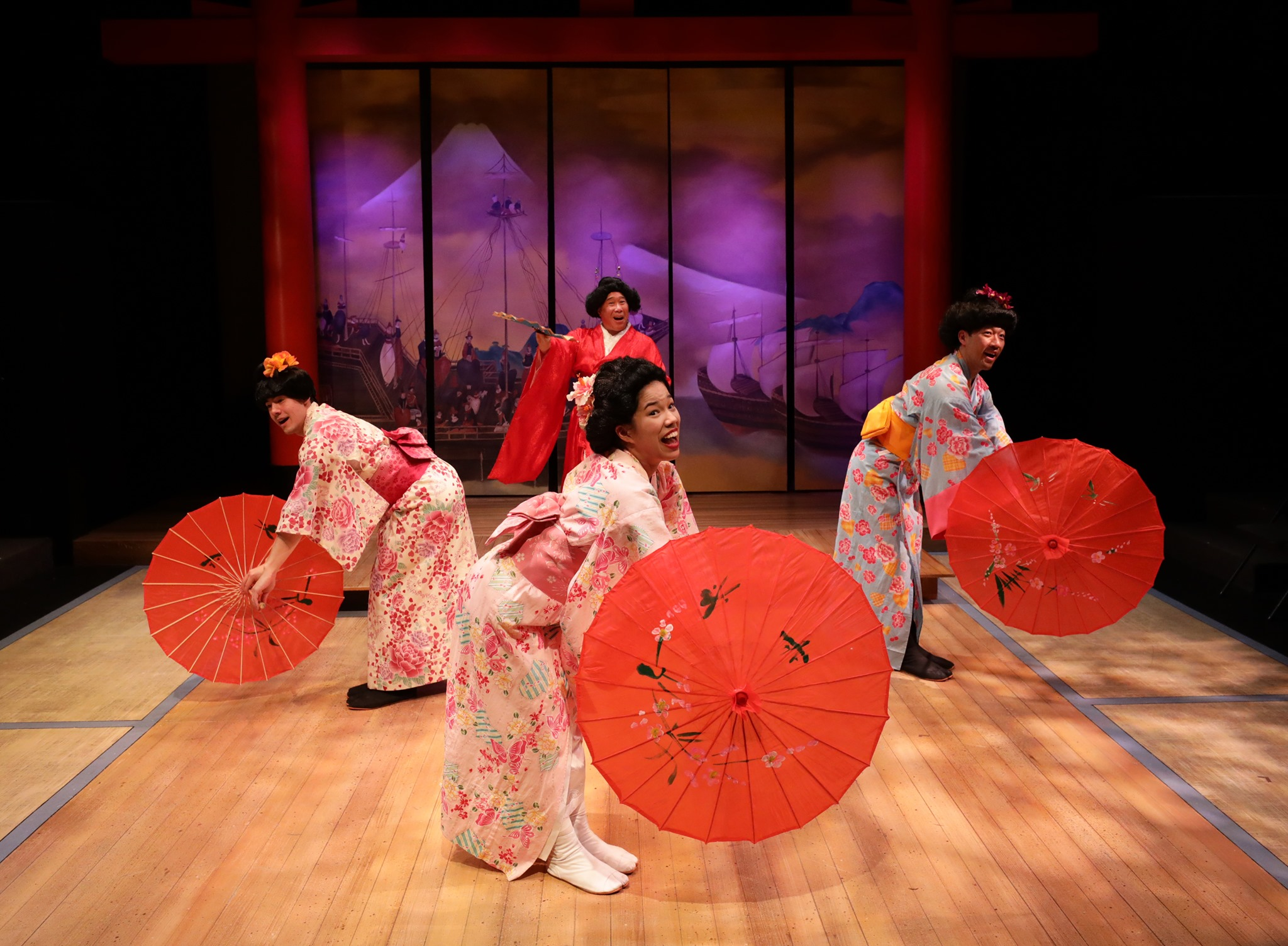 """""""Welcome to Kanagawa"""" - Pacific Overtures"""