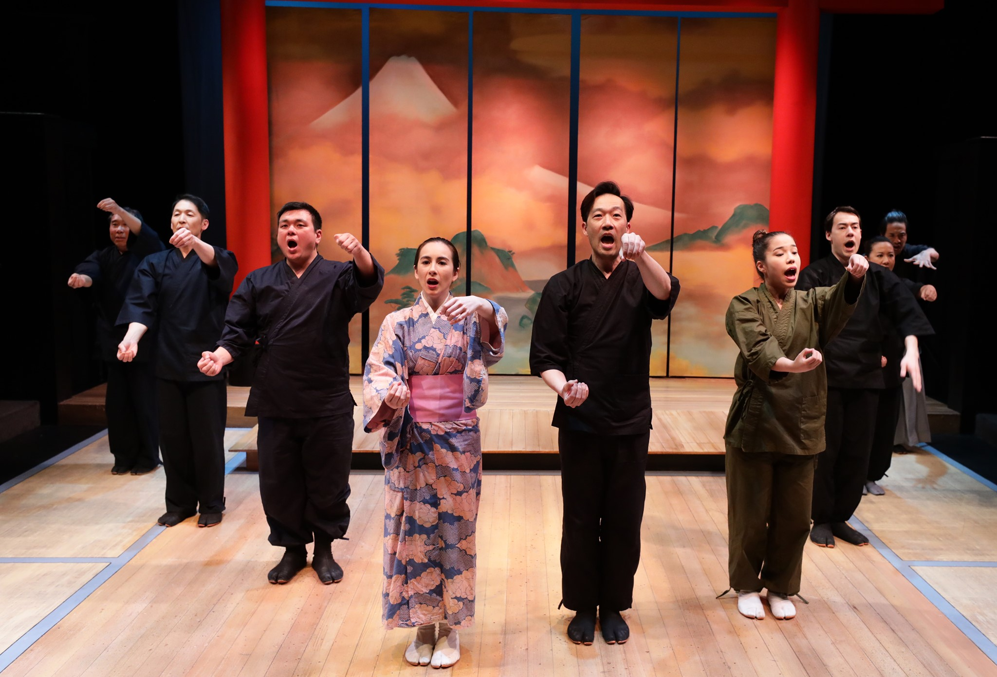 """""""The Advantages of Floating in the Sea"""" - Pacific Overtures"""