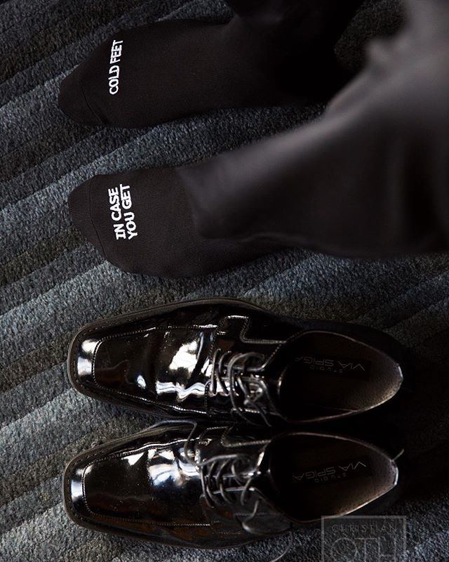Tag a groom who needs these socks for a winter wedding 📷: Christian Oth Studios . . . #weddings #weddingplanner #winterwedding #nycwedding #weddingday #nycweddingplanner