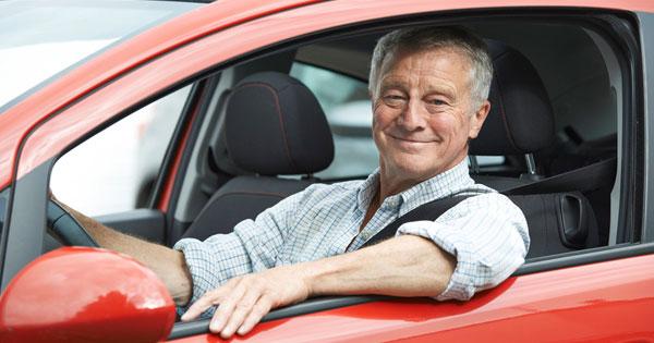 Seniors Driving -