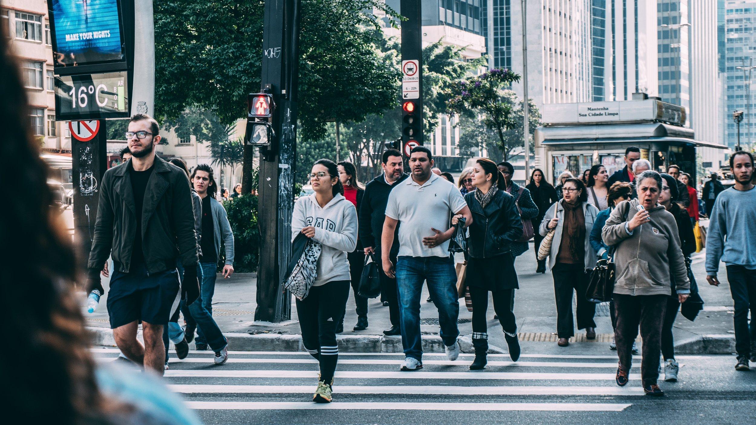 Pedestrians -