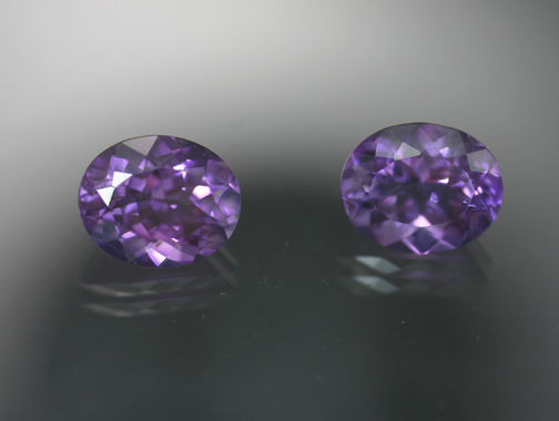 6.68 ct. Amethyst Pair - RESERVED