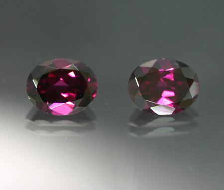 6.56 ct. 'Grape' Garnet Pair - RESERVED