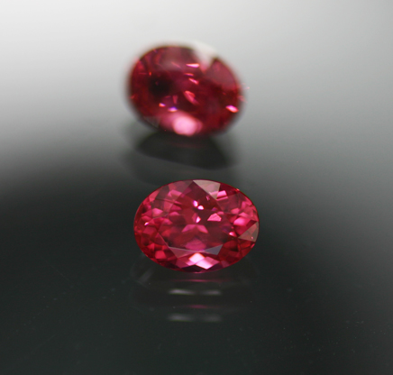 1.60 ct. Red Spinel Pair - RESERVED
