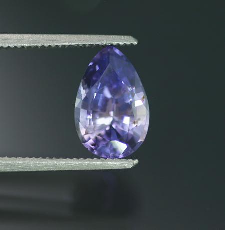 2.26 ct. Unheated Violet Sapphire