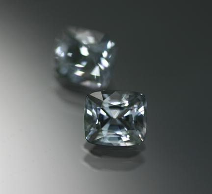2.46 ct. Grey Spinel Pair - RESERVED