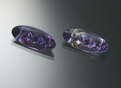 10.54 ct. Amethyst Pair - RESERVED