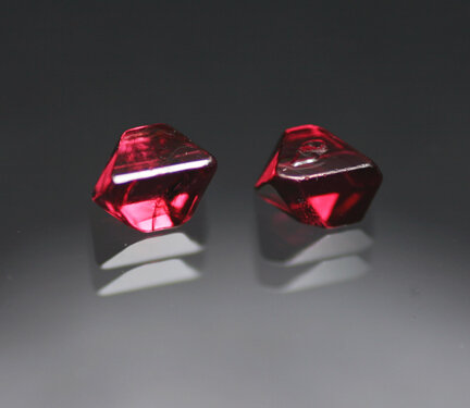 2.10 ct. Red Spinel Pair - RESERVED