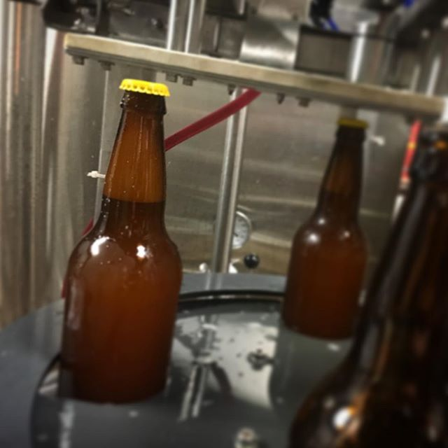 Bottling Naomi for our 7/27/18 bottle release party! 🎉 #thenaomibeer