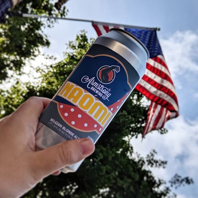 We hope you're enjoying this Memorial Day Weekend🇺🇸 Naomi available on tap, in cans, & growlers to go this weekend 😎