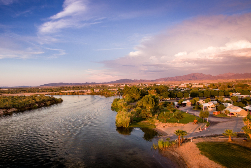A family-fun oriented RV resort located on the Colorado River. RVs, vacation rentals, and tiny home community.