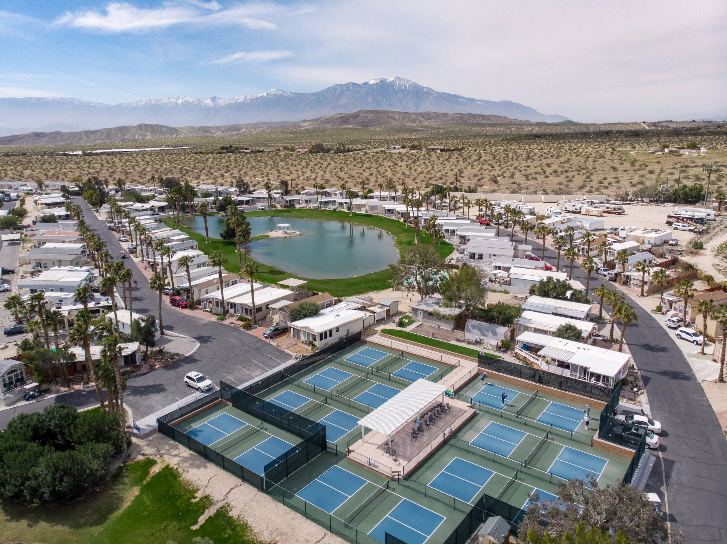 New Pickleball Courts -