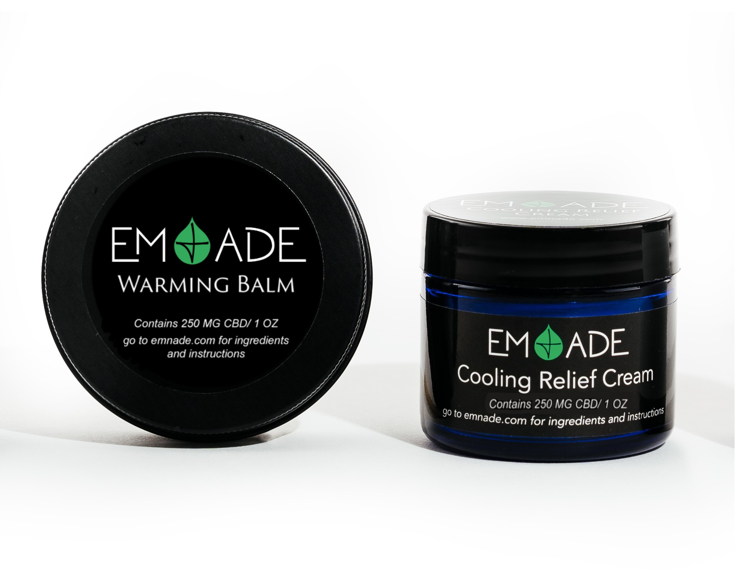 EM&ADE CBD TOPICALS FOR ATHLETES - EM & ADE products contain full-spectrum hemp-derived CBD, essential oils and other natural ingredients that reduce inflammation and injuries and relieve pain. We've got you covered before (Warming Balm) and after (Cooling Cream) your run!We've put these products to the test and have had relief from lower back, neck, joint, muscle and arthritis pain to name a few!