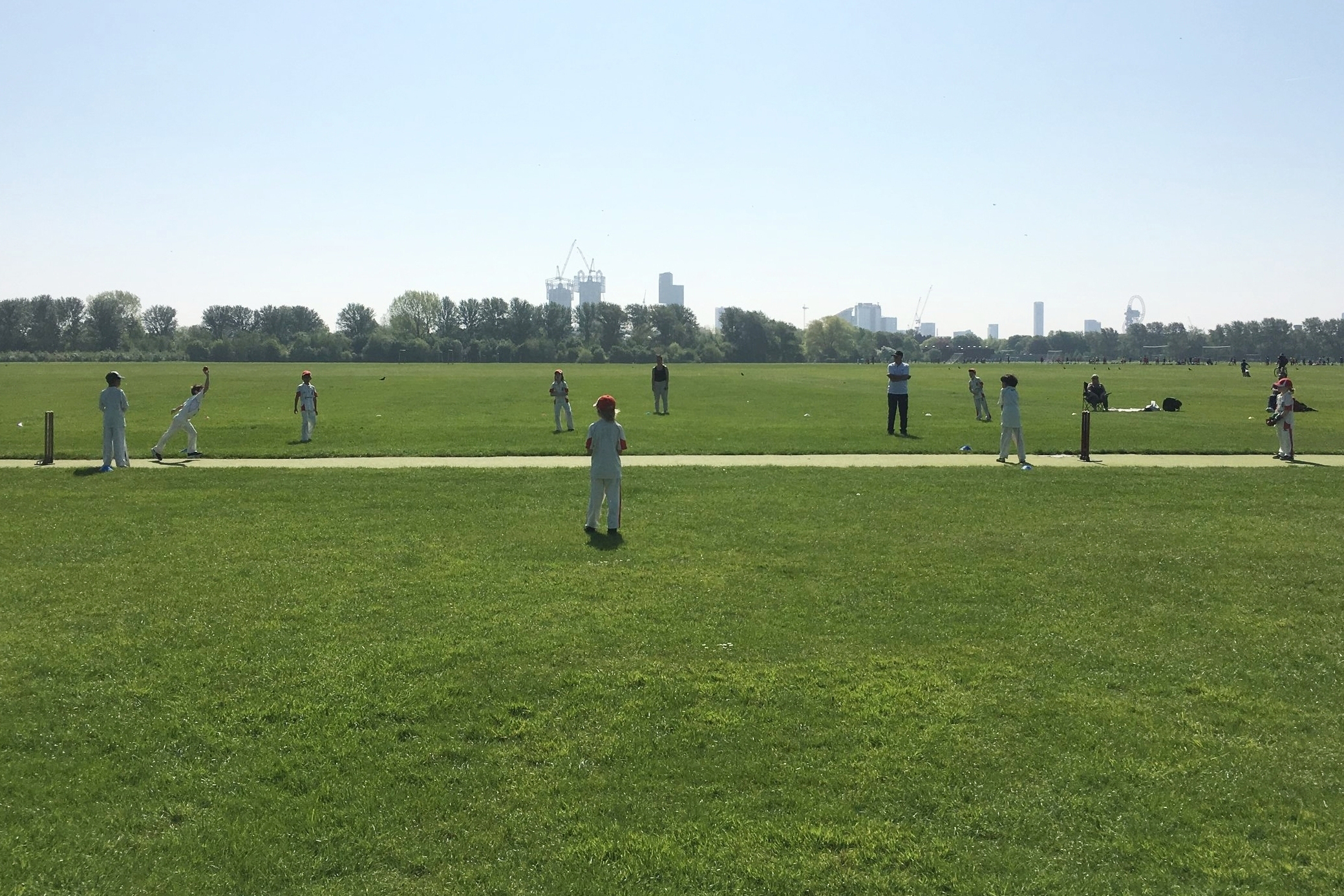 Outdoor Summer training at Hackney Marshes…