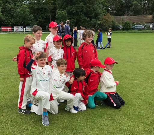 SNCC U8s at Crouch End last Sunday