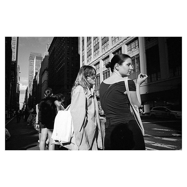 New York City, September 2019. Kodak Tri-X 400 #35mm . . . . . #minoltacle #nyc #streetphotography #streetlife #analogphotography #myfeatureshoot #kodaklosers #bnw_streets #streetleaks #storyofthestreets #filmisnotdead #friendsinstreets #picoftheday #thisaintartschool #streetportraits #newyorkcity #kodaktrix400 #lensculturestreets #seventwentymagazine #burnmyeye #photoobserve #ihsp #fromstreetswithlove #ourstreets #eyeshotmag #timeless_streets #photo_collective #staybrokeshootfilm #fisheyelemag