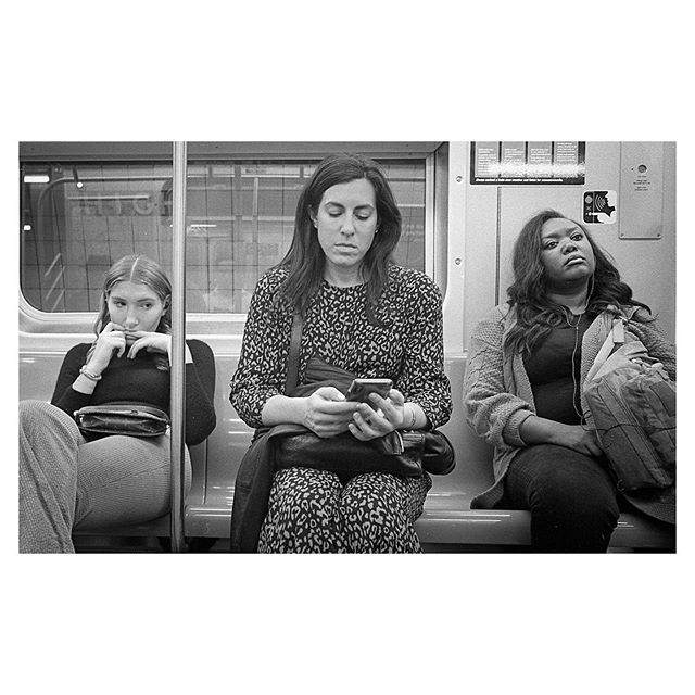 4 train, New York City, September 2019. Kodak Tri-X 400 #35mm . . . . . #minoltacle #nyc #streetphotography #streetlife #analogphotography #myfeatureshoot #kodaklosers #bnw_streets #streetleaks #storyofthestreets #filmisnotdead #friendsinstreets #picoftheday #thisaintartschool #streetportraits #newyorkcity #kodaktrix400 #lensculturestreets #seventwentymagazine #burnmyeye #photoobserve #ihsp #fromstreetswithlove #ourstreets #eyeshotmag #timeless_streets #photo_collective #staybrokeshootfilm #fisheyelemag