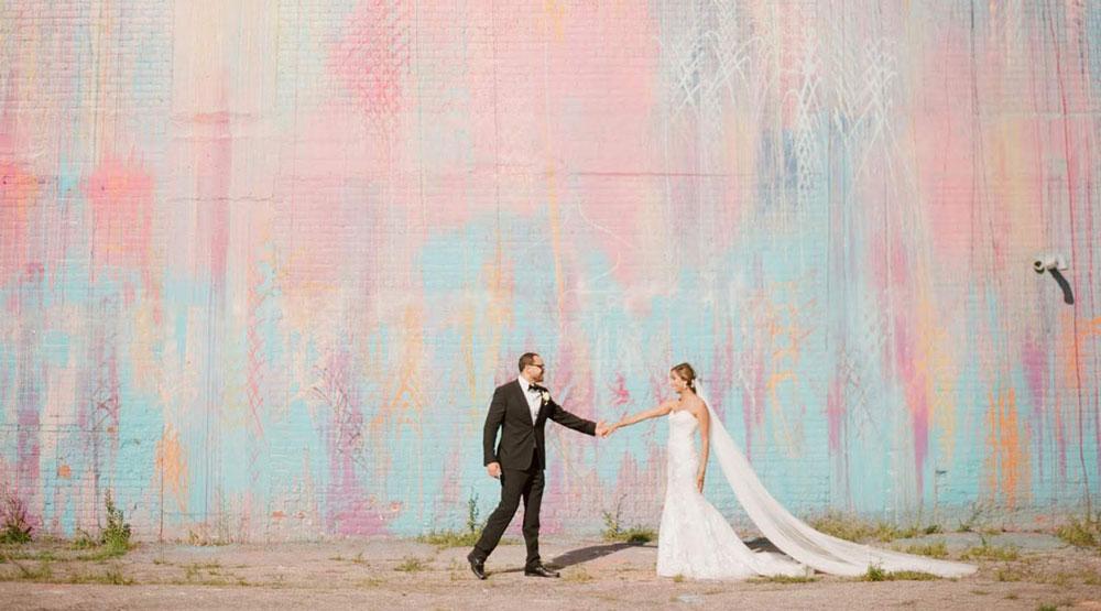 next gallery - Detroit Skyline Wedding