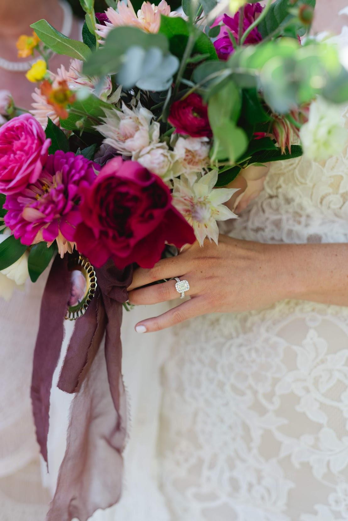 Bold & Intimate Detroit Wedding