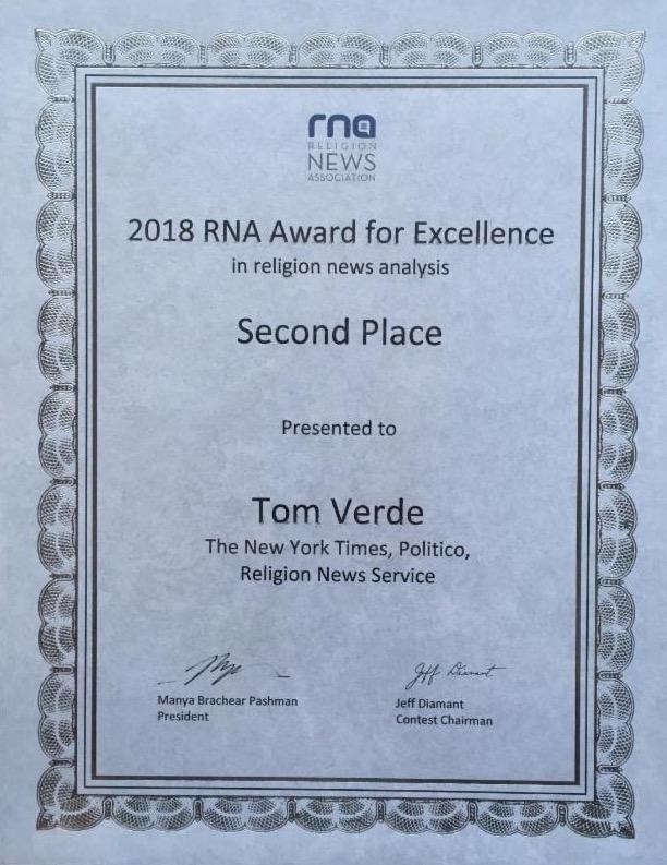 Tom Verde Award - September 2018 - smaller.jpeg