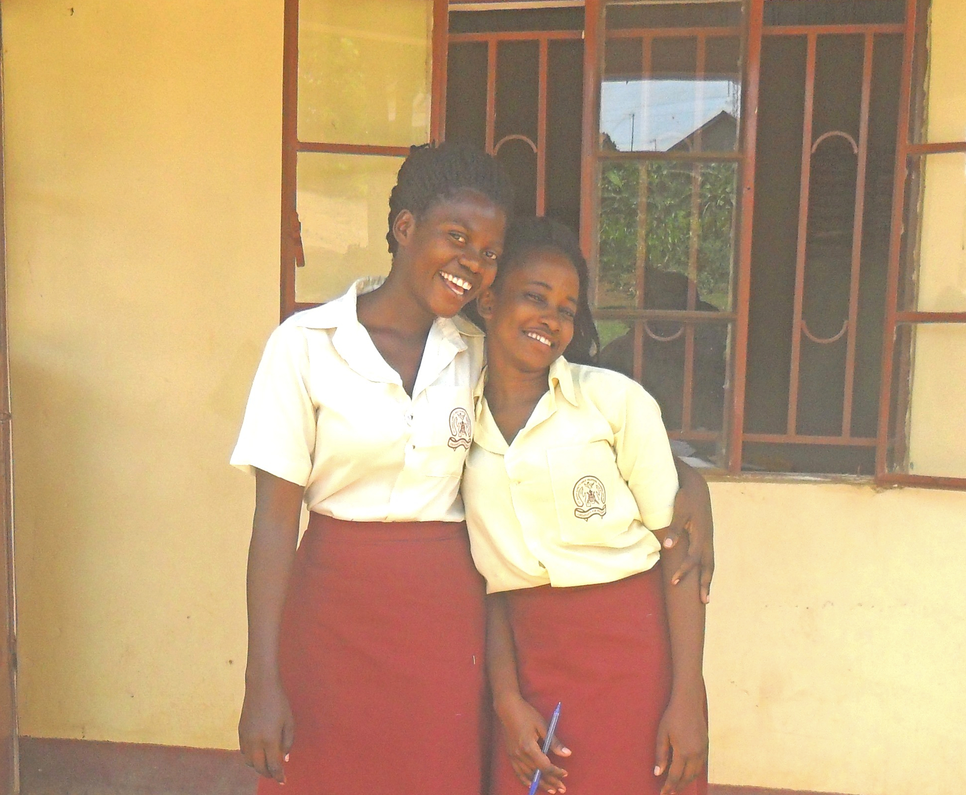 B. Marion & N. Mary, Tailoring Students