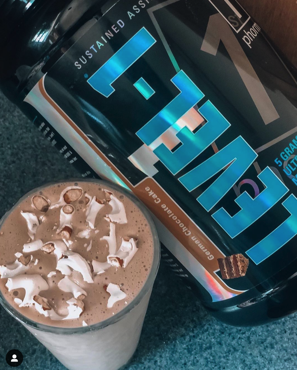 Click this picture to order your own Level 1 Protein Powder with FREE priority shipping! My favorite flavors are German Chocolate Cake, Cinnamon Cookie Batter, Ice Cream Sandwich and Caramel Latte.