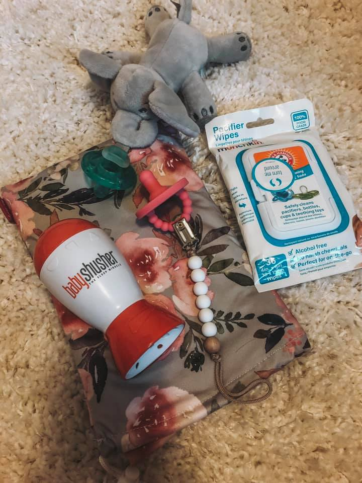 baby shusher, pacifer's, pacifier wipes