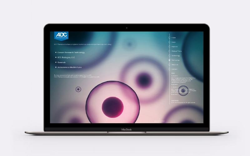 ADC Thérapeutics  Site web