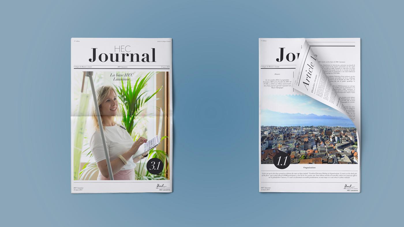 HEC Lausanne  Journal