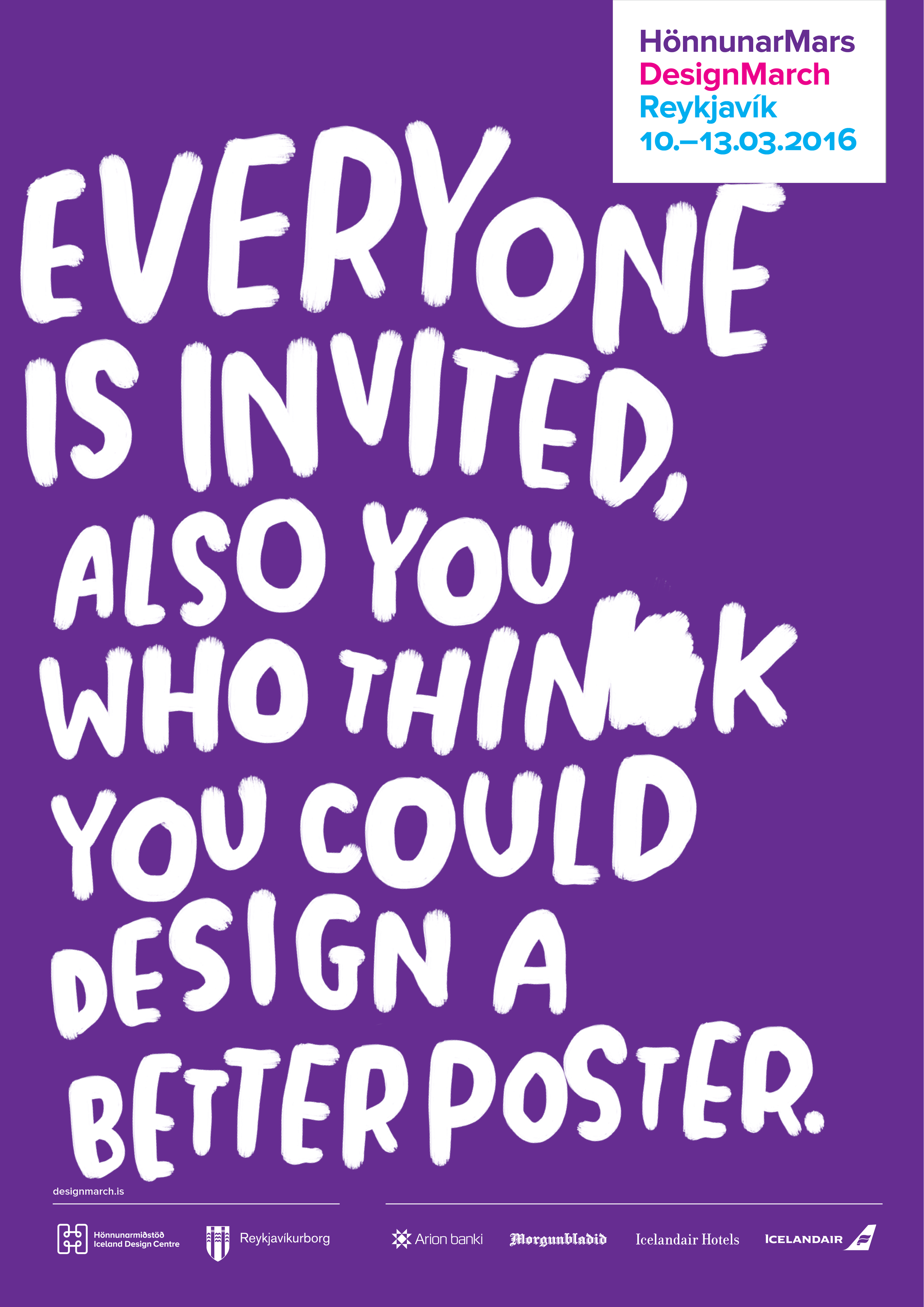Design+a+March+brand+identity+|+tomasdottir.+|+logo+design,+pattern+design,+online+marketing,+festival+design,+branding,+illustration,+modern,+poster+design