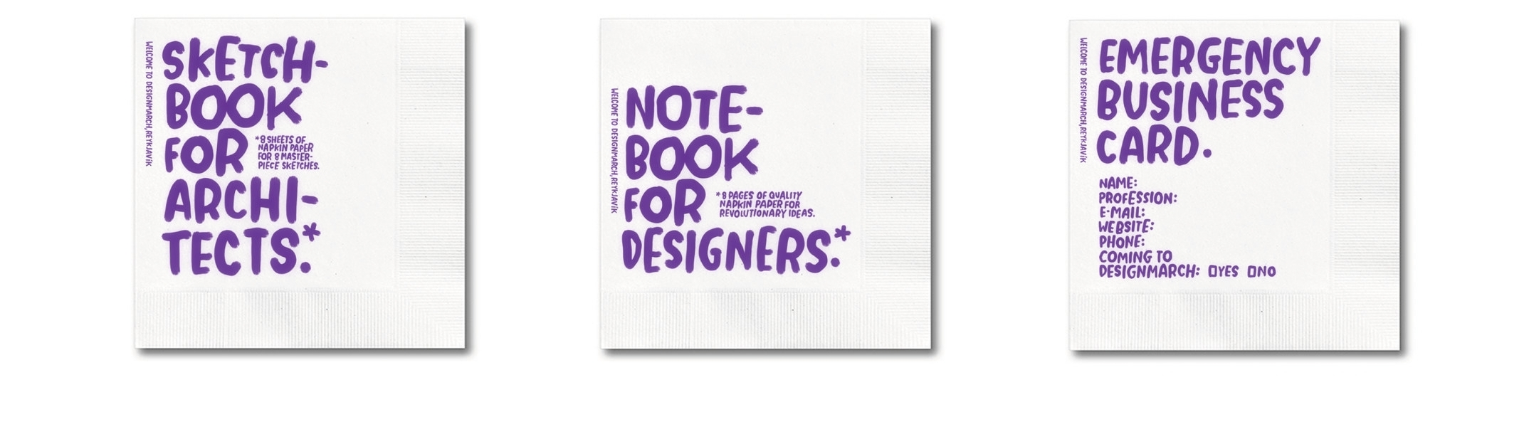 Design+a+March+brand+identity+ +tomasdottir.+ +logo+design,+pattern+design,+online+marketing,+festival+design,+branding,+illustration,+modern,+napkins+design