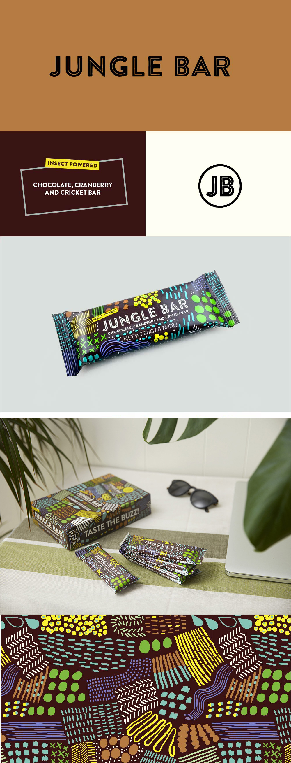 Jungle+Bar+&+brand+identity+|+tomasdottir.+|+logo+design,+pattern+design,+sustainable+design,+branding,+bold,+fun,+friendly+pattern