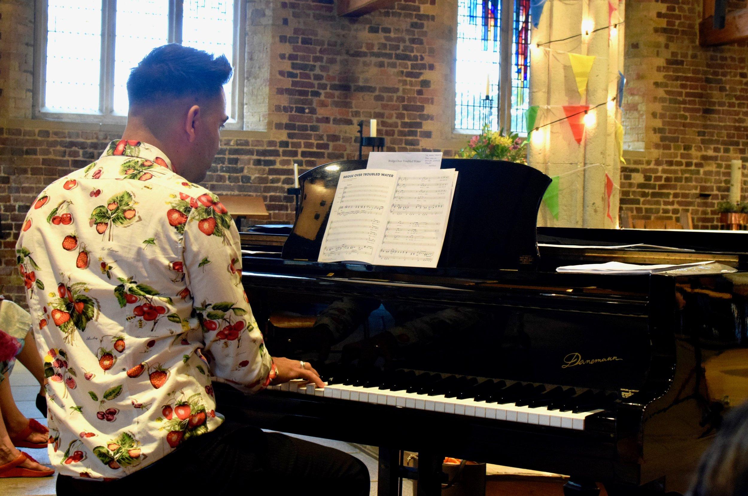 Twickenham pianist