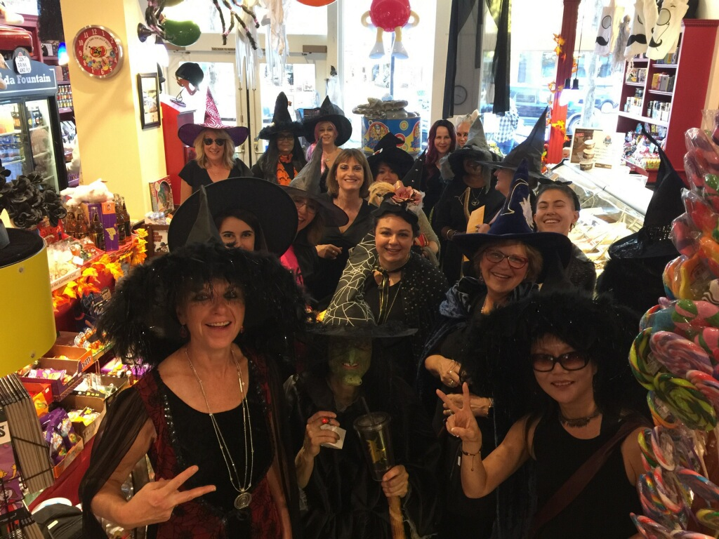 The spooky bunch at Zoonies!