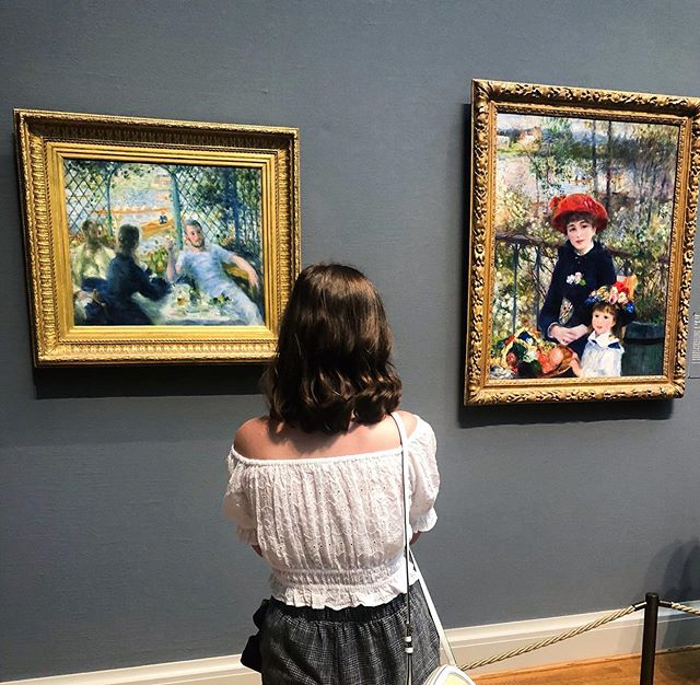 Just admiring these stunning works by Renoir.