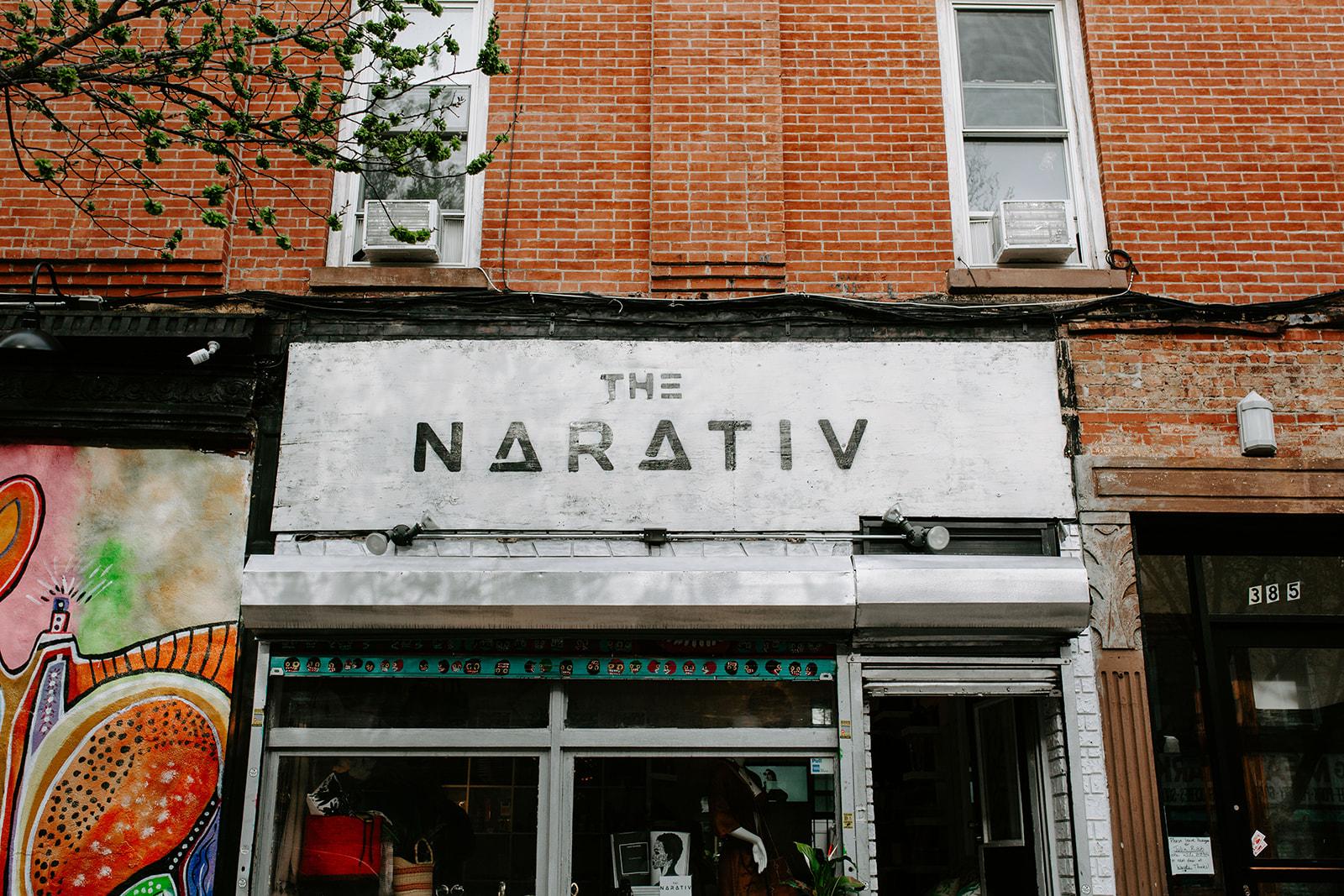 The Narativ x Indie Twenty Store Front