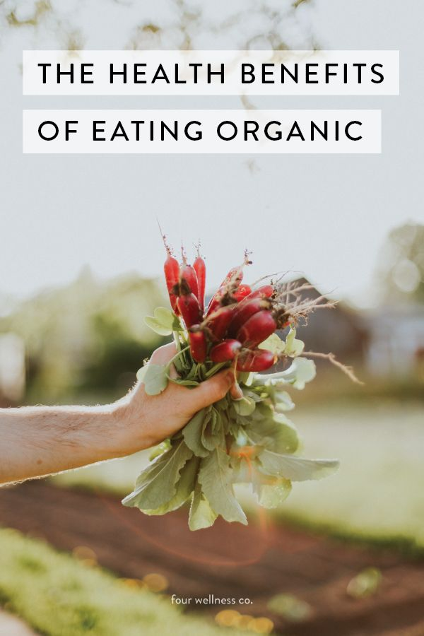 The health benefits of eating organic // The difference between organic and conventional foods, and the health, environmental and social benefits of eating organic. Plus, the top foods to purchase organically grown.